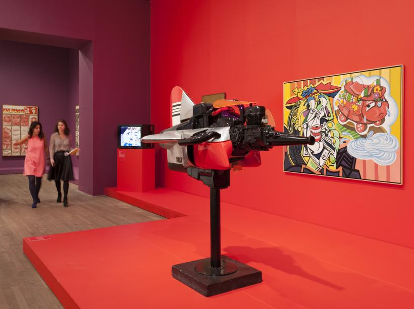 Installation views of  The EY Exhibition: The World Goes Pop, Tate Modern, 17 September - 24 January 2015