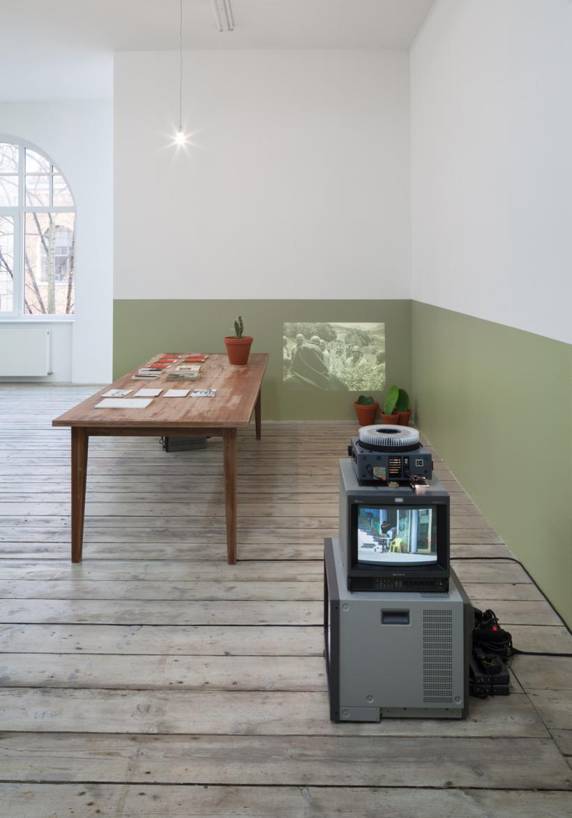 Codename: Osvaldo. Two Case Studies, Installation View