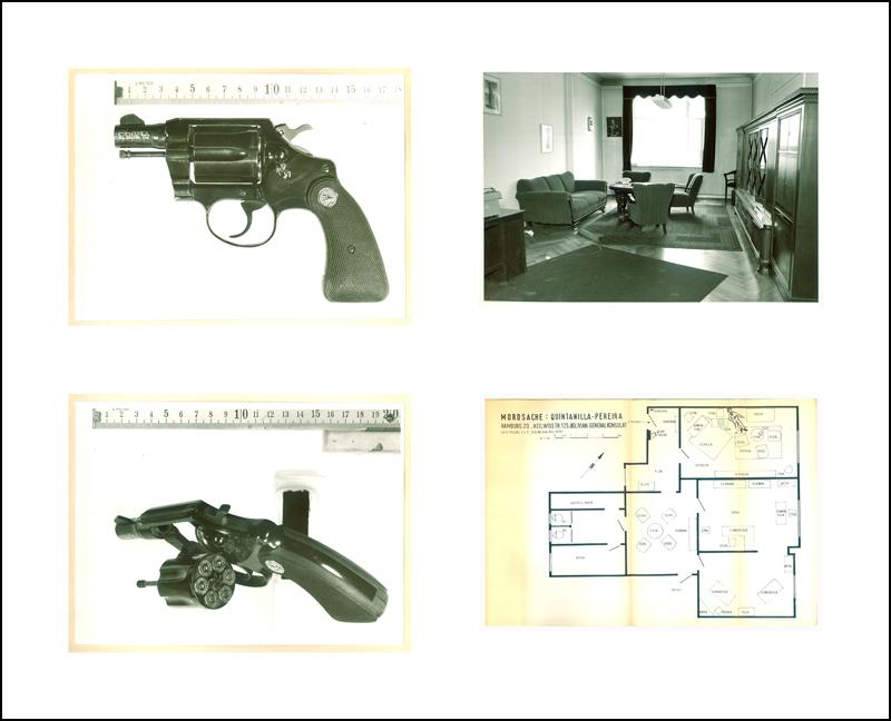 Case Study One: The pistol of Monika Ertl (detail)