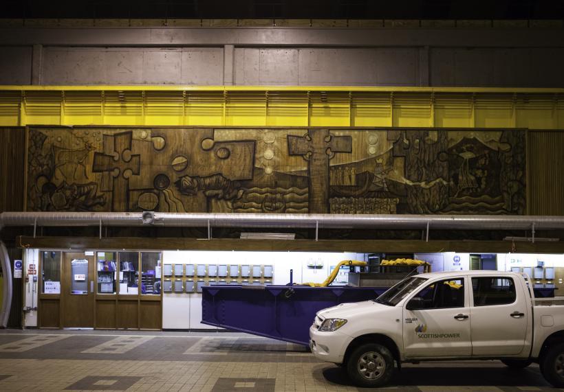 Cruachan Power Station mural