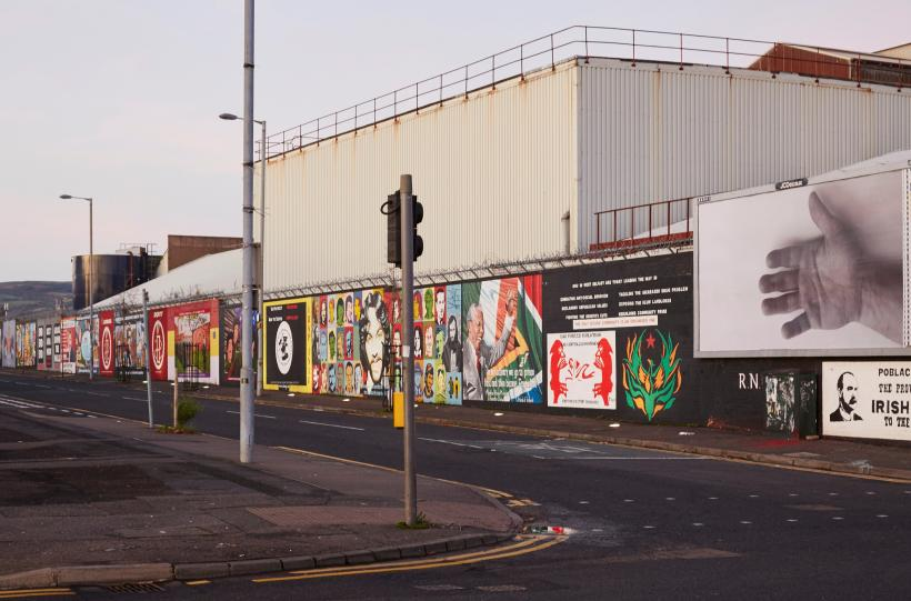 "Felix Gonzalez-Torres, ""Untitled"" (For Jeff), 1992, Billboard Installation view on Divis Street, Belfast"