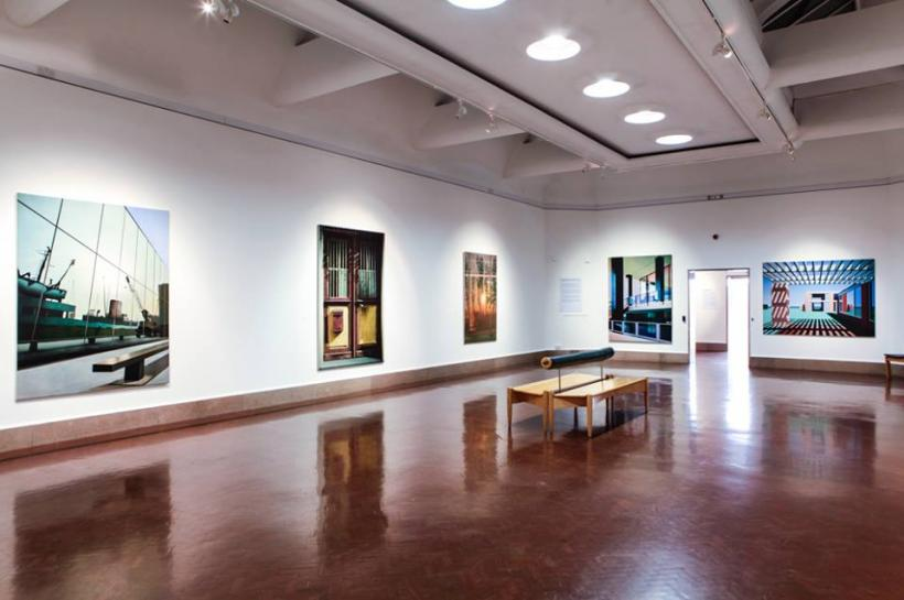 Ben Johnson: Spirit of Place, installation view at Southampton City Art Gallery 2015/16