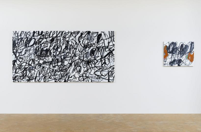Clem Crosby, My, my shivers, 2015. Installation view Pippy Houldsworth Gallery, London