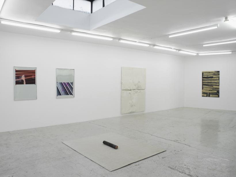 Installation View, Drawn by its own memory, Laura Bartlett Gallery, London, 2015