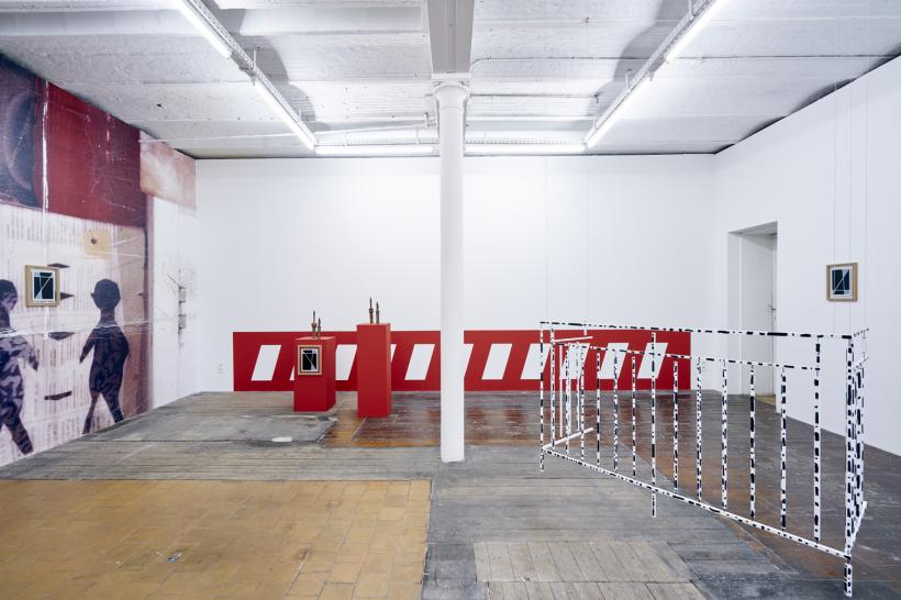 Yonatan Vinitsky: Sortie Definitive, Installation View