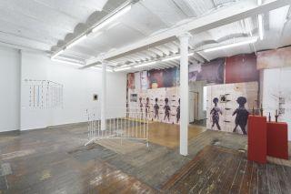 Yonatan Vinitsky: Sortie Definitive, Installation View