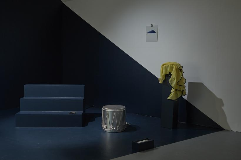 play(ground)-less, Installation view 2015, Sarah Bayliss, Maria Angelica Madero, Ninna Bohn Pedersen and Belen Zahera