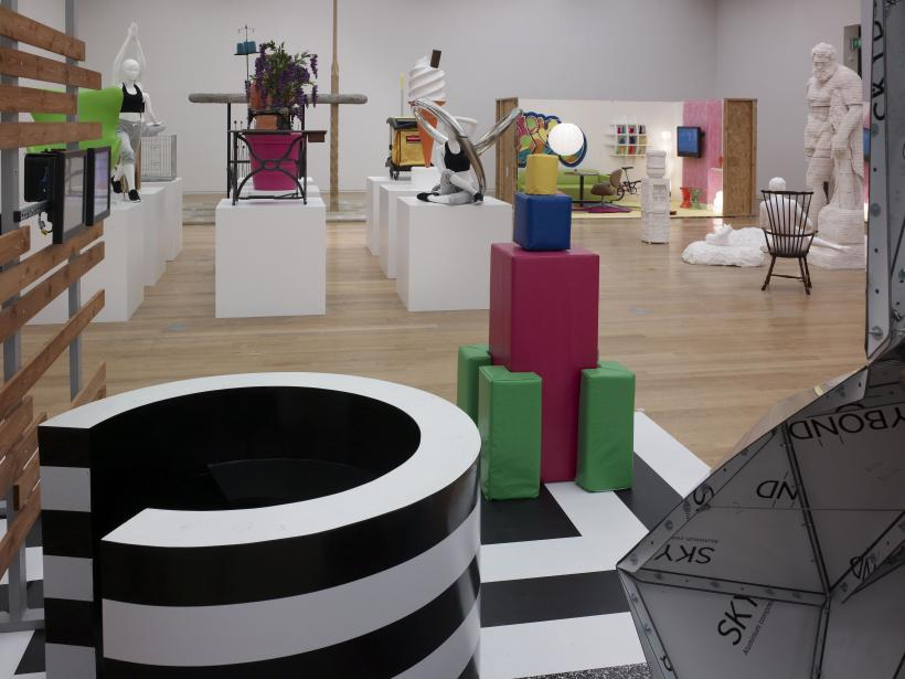 Matthew Darbyshire: An Exhibition for Modern Living, installation view at Manchester Art Gallery