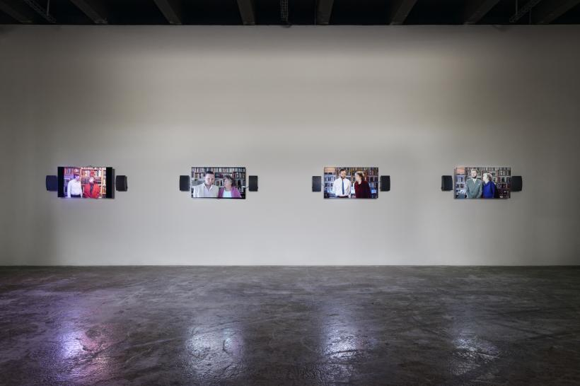 Me and My Mother, Installation view of Seul Celui qui Connait le Desir
