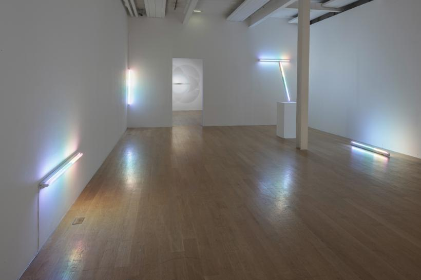 Spencer Finch, Shadows (After Atget), 2007, Installation view: Another Minimalism: Art After California Light and Space at The Fruitmarket Gallery, Edinburgh