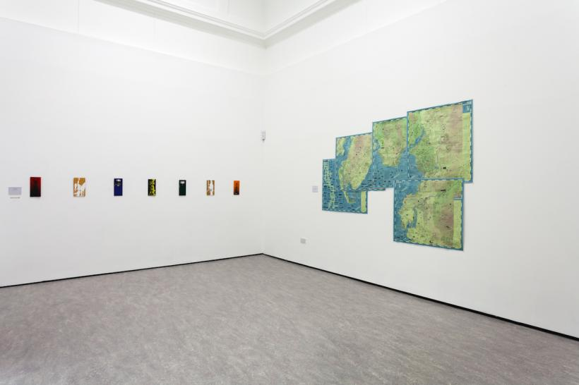 Modern History Volume II, installation view at The Atkinson, Southport, 2015