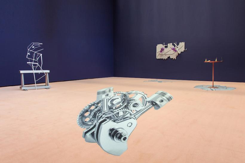 The Smile of a Snake, Installation View