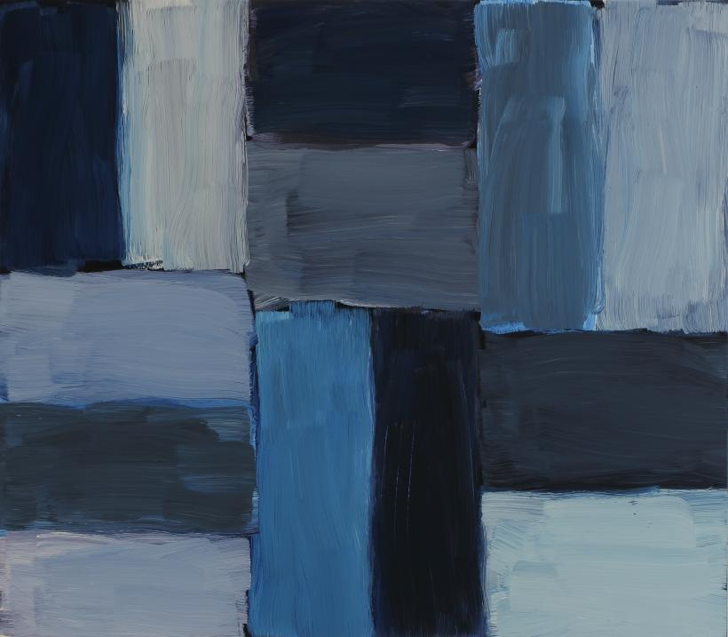 Sean Scully, Untitled (Doric), 2015, oil on linen, 71.1 x 81.3 cm
