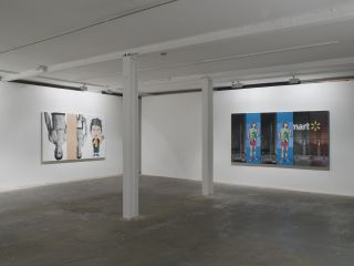 Installation view, Vilma Gold, London