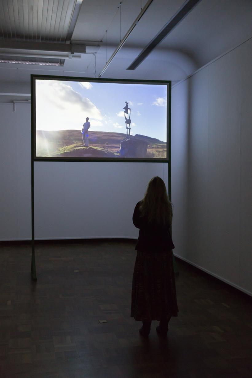 Dominic Watson, Like A Rolling Stone, 2012. Installation view from ALL SYSTEMS…go