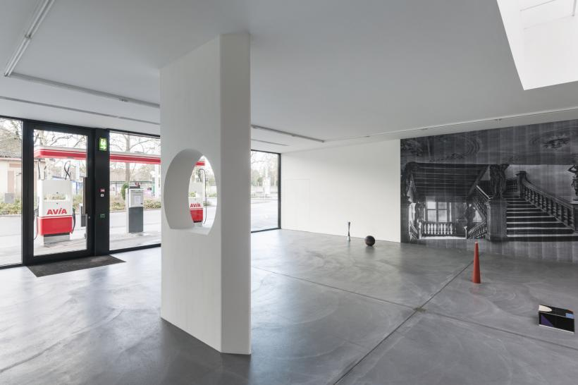 Sitting on a Branch, Installation View