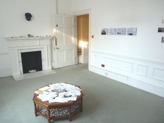 Installation view Material Witness