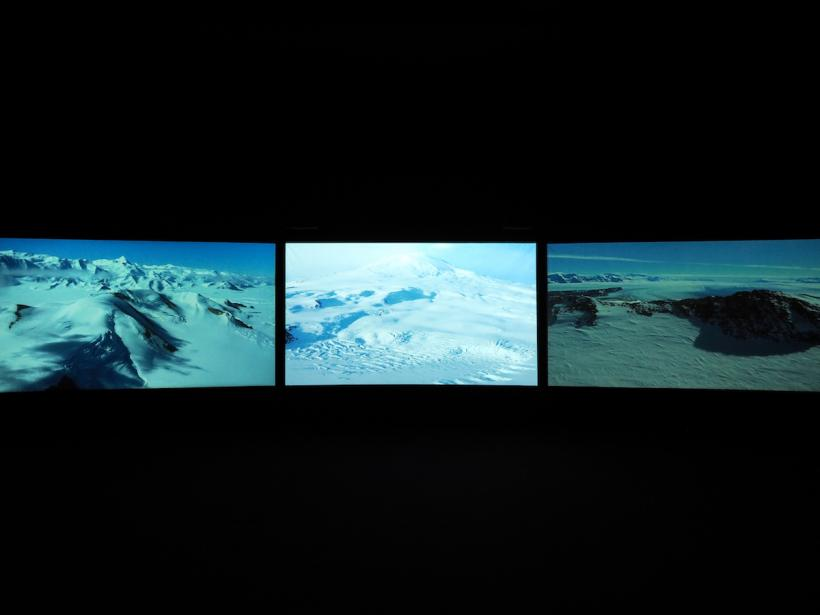 John Akomfrah, Vertigo Sea, 2015, installation view at Arnolfini