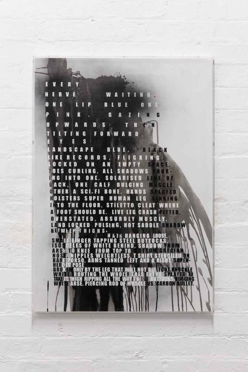Fiona Banner, Superhuman Nude, 2011.