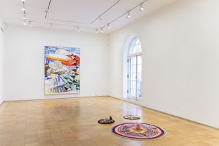 Condo, Gonzalez-Torres, Kelley, Prince, Salle, Sherman, Trockel, Wool, installation view at Skarstedt, New York