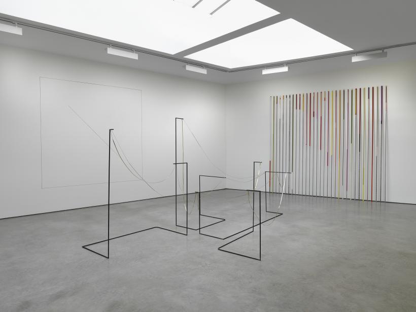 Line, installation view.