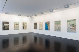 Installation view, Stephen Friedman Gallery, London