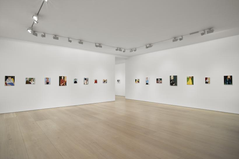 Installation, Chantal Joffe, Victoria Miro Mayfair