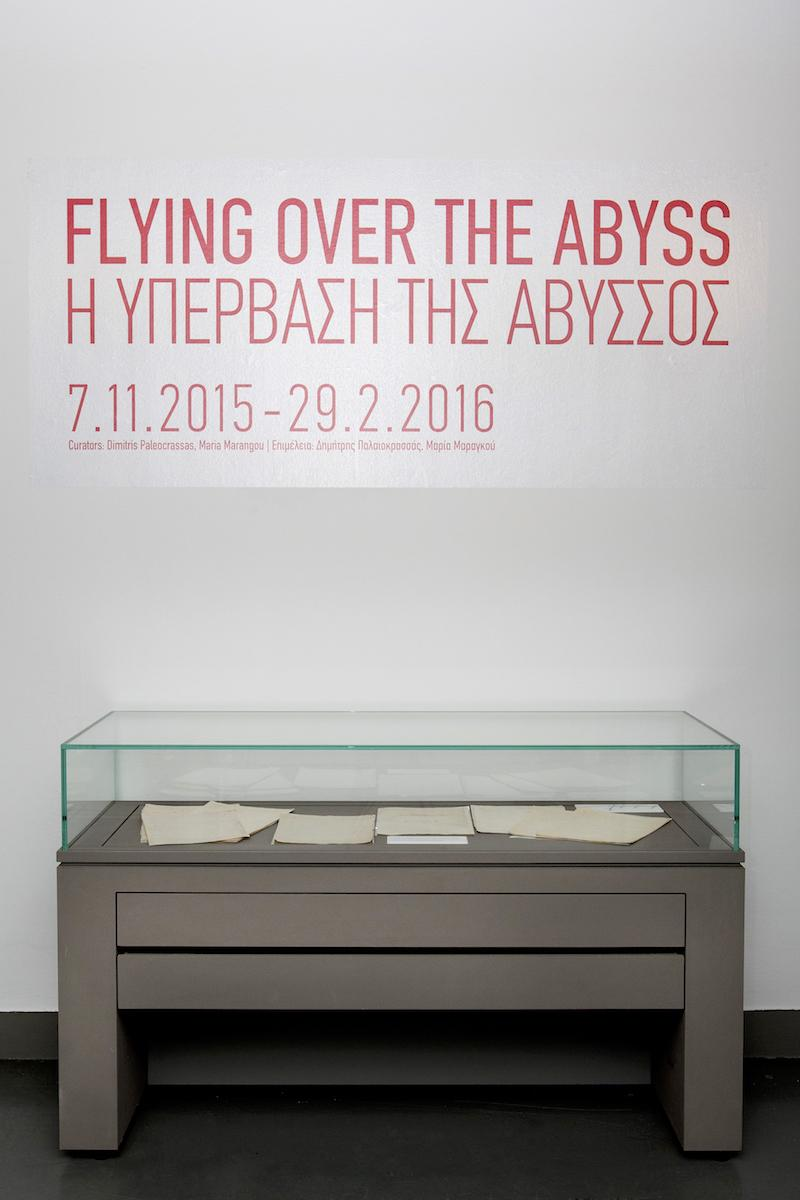 Installation view of Flying over the Abyss, 2016