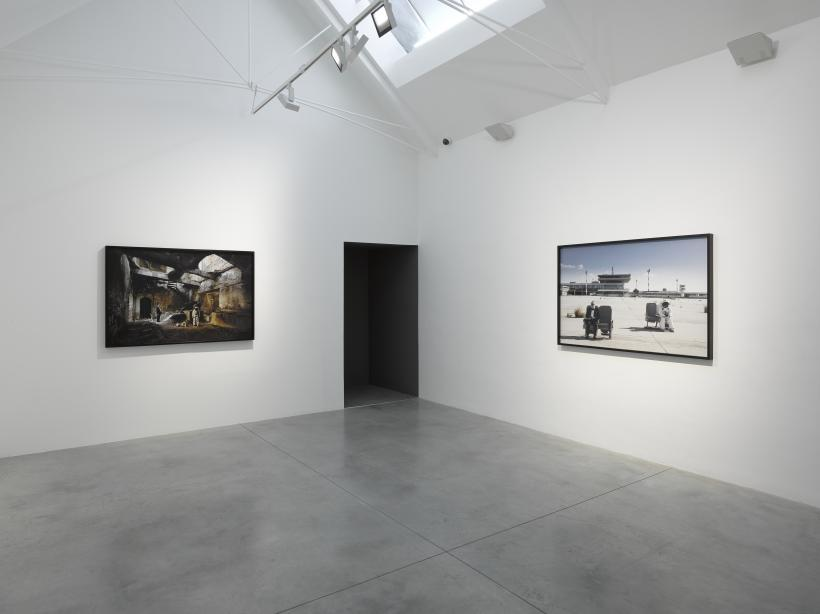 John Akomfrah, Installation view