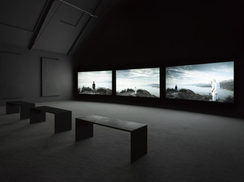 Installation view of 'The Airport'