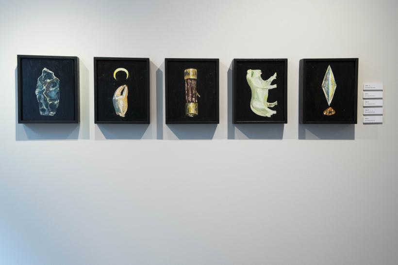 Installation view, This Myth