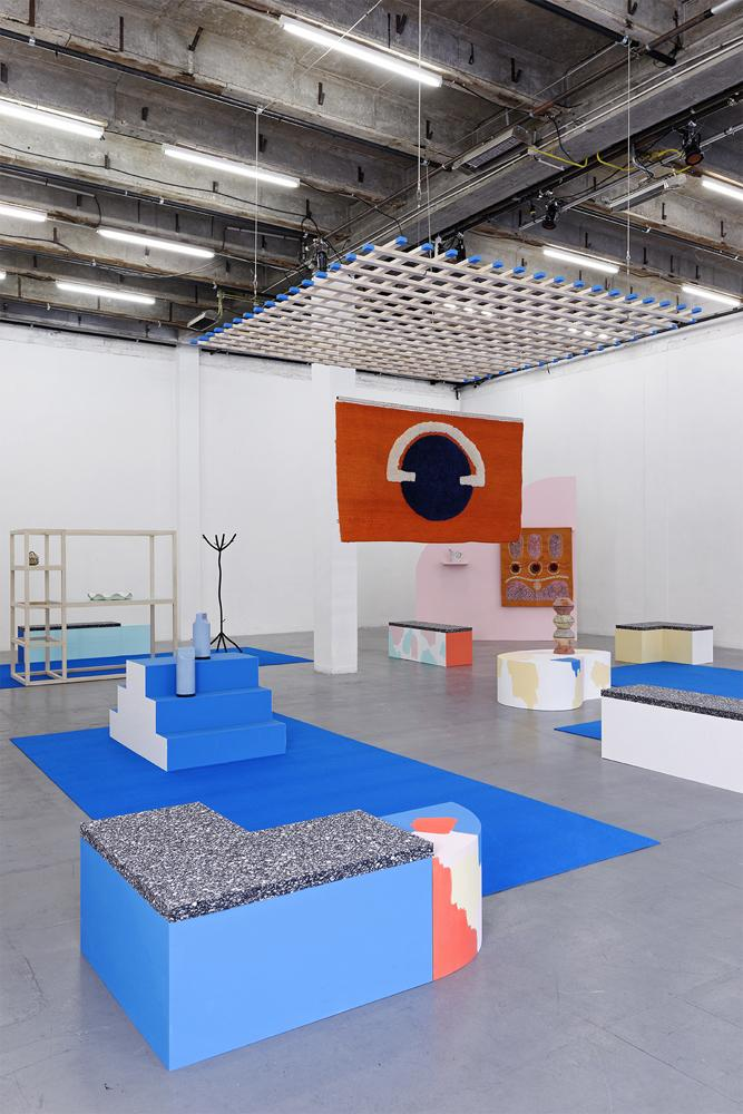 Eva Taulois & It's Our Playground: Ambiance d'aujourd'hui, installation view, 2016