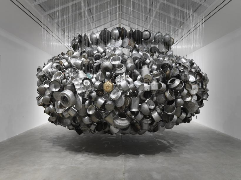 Installation view, 'Subodh Gupta. Invisible Reality', Hauser & Wirth Somerset, 2016
