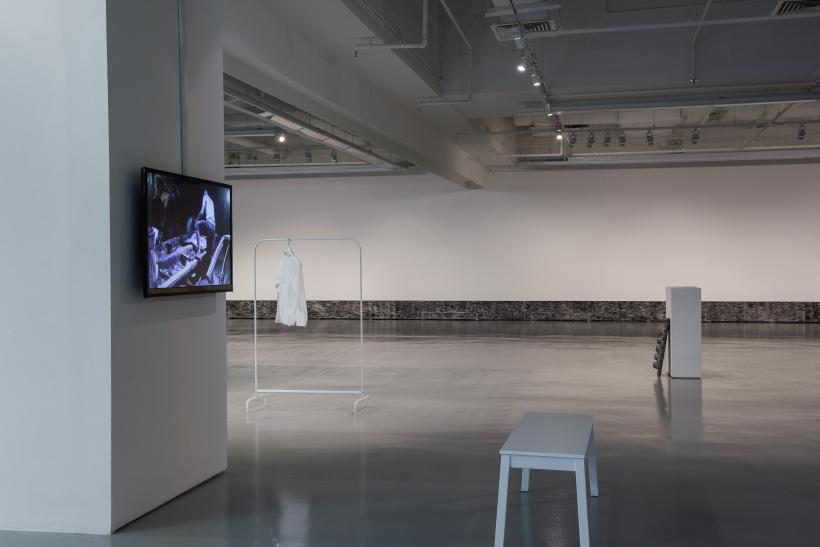 Practising habits of the day, Installation View