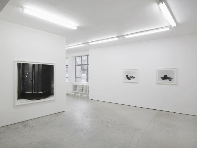 Becky Beasley Lake Erie from the Northwest,  Installation view, Laura Bartlett Gallery, 2016