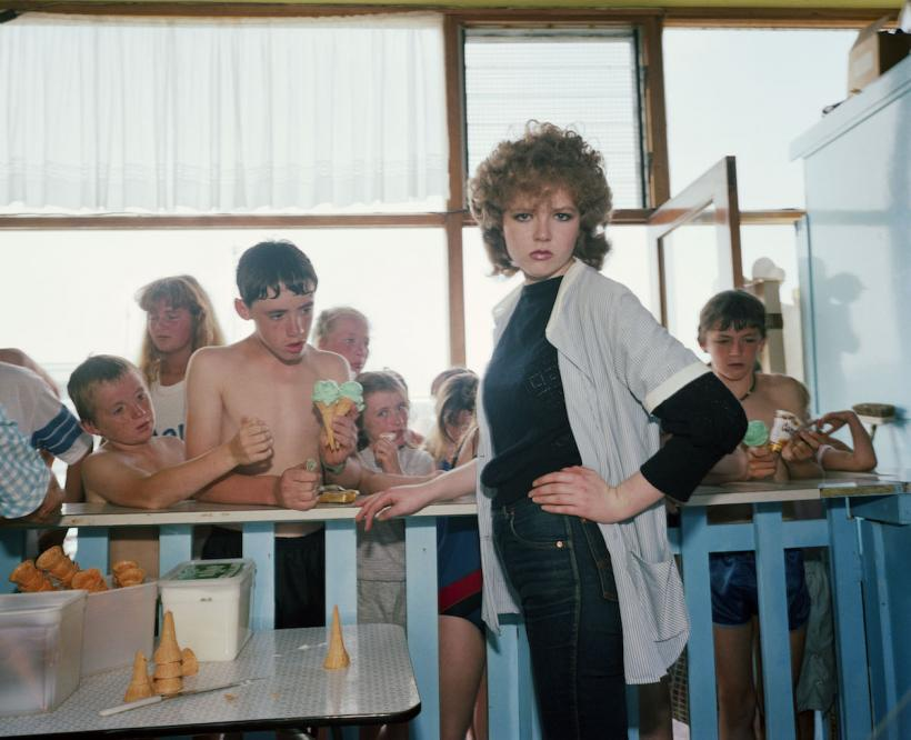 GB. England. New Brighton. From 'The Last Resort'. 1983-85