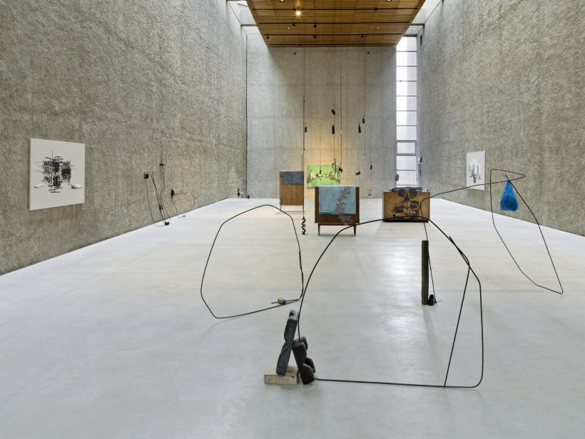 From Alexandrinenstrasse to the Unnamed Path, Installation View