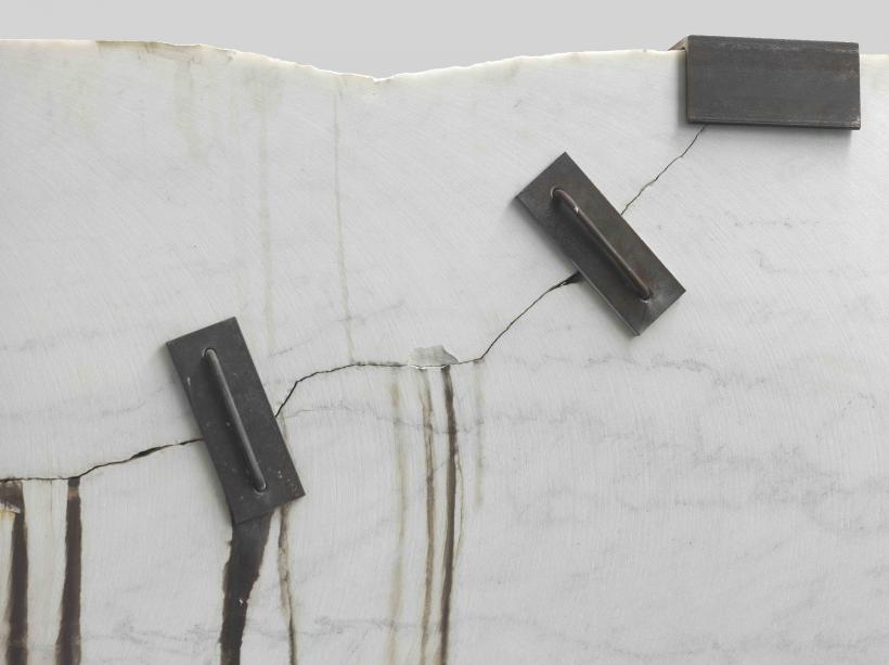 Michael Joo, Prologue (Montclair Danby Vein Cut) detail, 2014-2015