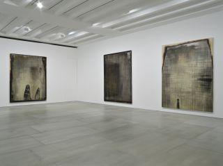 Michael Joo, Untitled (Radiohalo 1), Untitled (Radiohalo 2), Untitled (Radiohalo 3), installation view, 2016