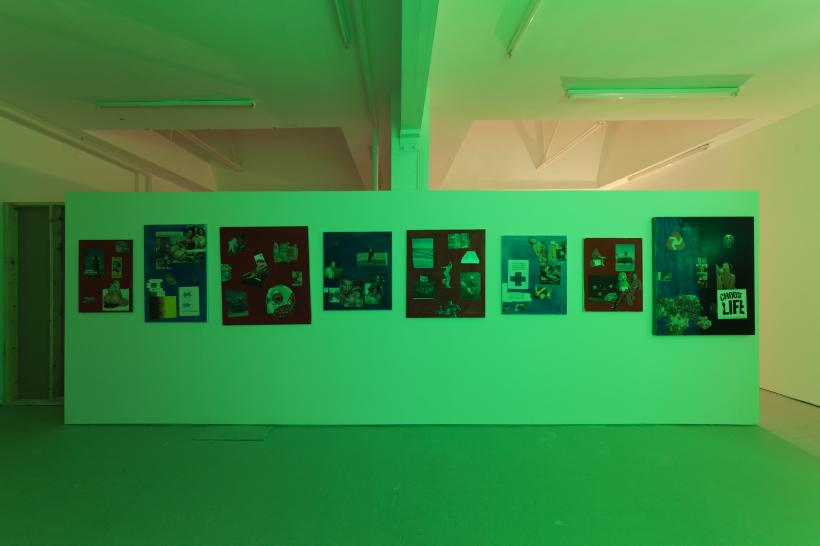 Invisible World, Installation View