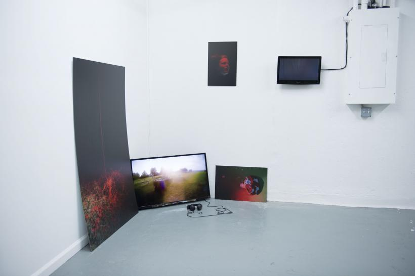 The Place Where He Is Meant To Be Lost, installation view at The Third Policeman, New York, 2016