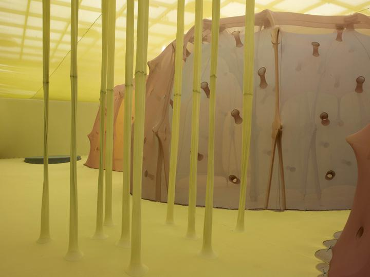 Ernesto Neto   Installation at  Hayward Gallery1 (7)  Image Credit Steve White