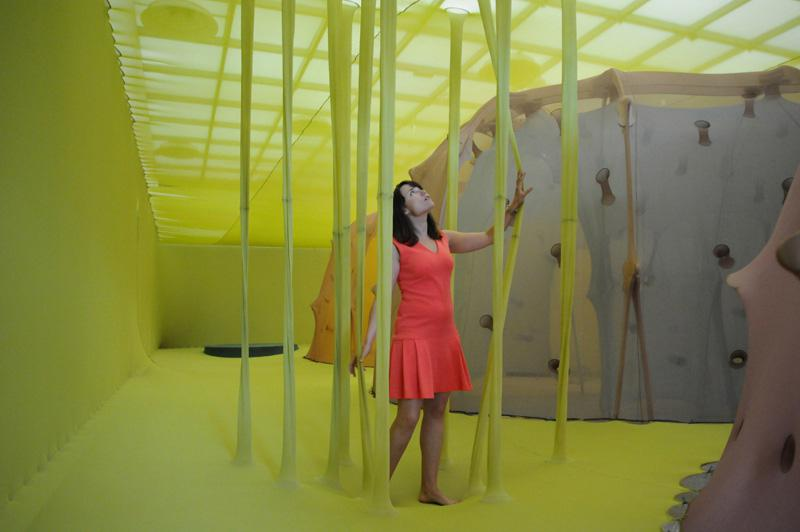 Ernesto Neto at the Hayward Gallery 1