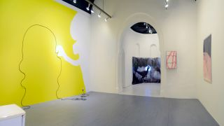 Catherine Biocca, Cornelia Baltes, Rosalie Schweiker, installation view at Mission Gallery, 2016