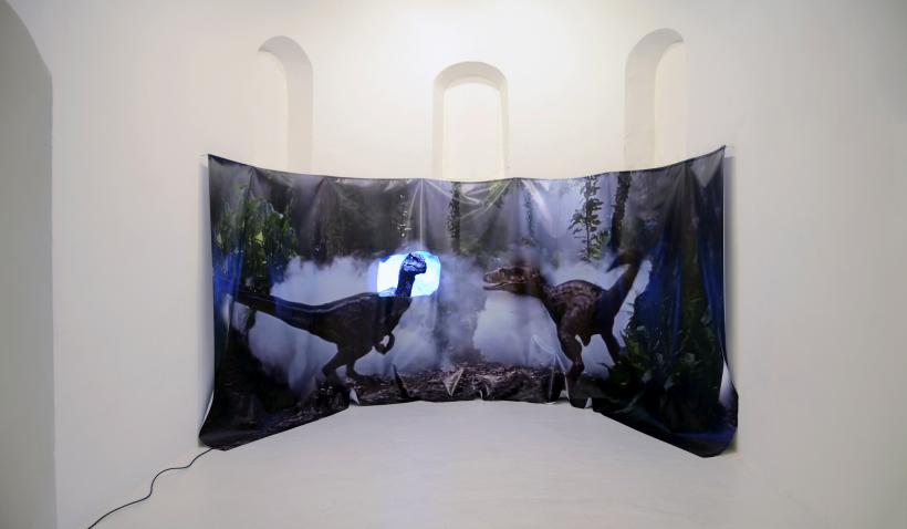 Catherine Biocca, Deutscher Fürst, installation view at Mission Gallery