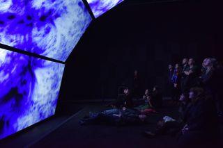 'Unfold' by Ryoichi Kurokawa, installation view at FACT, 2016