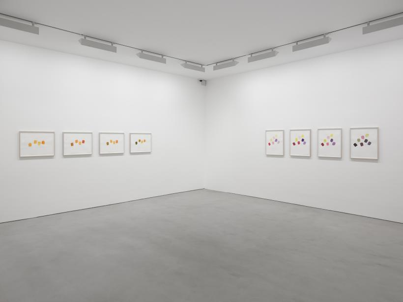 Spencer Finch, The Opposite of Blindness, installation view
