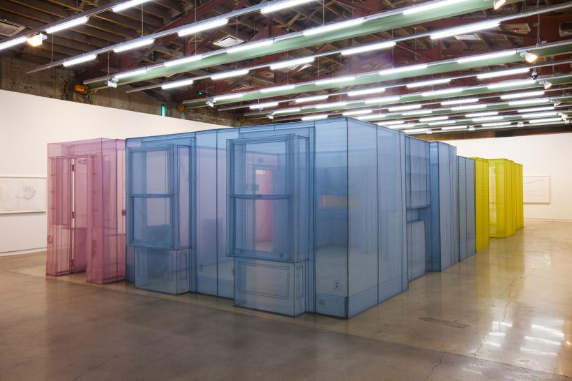 Do Ho Suh, Installation view at The Contemporary Austin