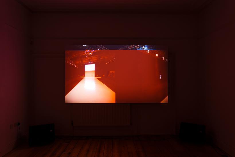 Installation view, Anna Barham at bl nk space at Roco