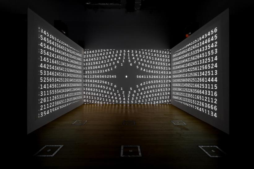 Installation view, Charles Atlas at Sheffield Institute of Arts Gallery